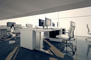Ergonomie am Arbeitsplatz - modernes Büro