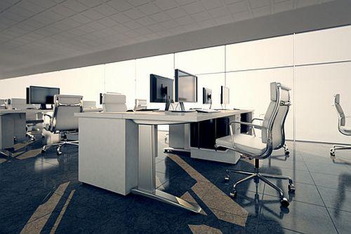 Ein modernes Büro