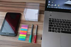 Bild: Odnung am Schreibtisch