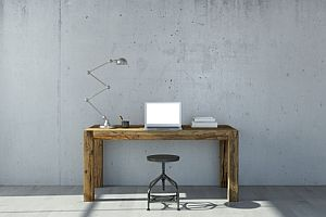 Abbildung: Sitzhocker am Arbeitsplatz