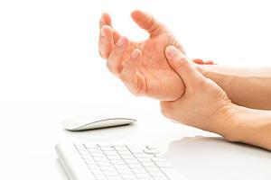 Schmerzendes Handgelenk - Abbildung