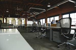 Abbildung: großes Büro