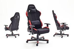 dx racer1 gaming stuhl chefsessel mit armlehnen f r die beste sitzhaltung. Black Bedroom Furniture Sets. Home Design Ideas
