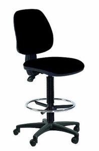 Arbeitsdrehstuhl hoch mit Fußring – Topsit IND201