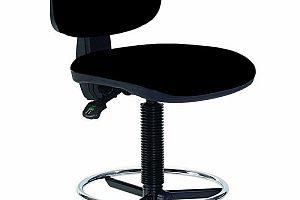 Arbeitsdrehstuhl hoch mit Fußring - Topsit IND201