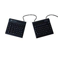 Abbildung: Tastatur mit zwei separaten Hälften