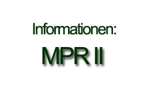 Grafik: Informationen zum MPR II Label