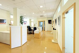 Artikelbild: Büro mit Trennwand