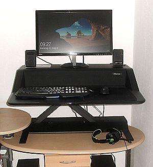Abbildung: Workstation im Einsatz