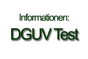 Artikelgrafik: das Zeichen DGUV Test