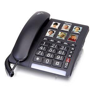 Produktbild: Switel TF540 -schnurgebundenes Grosstastentelefon