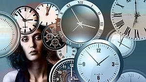 Grafik: Arbeit unter Zeitdruck