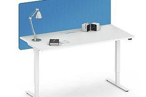 Produktbild: Akustik Tischtrennwand von Weber Büroleben GmbH