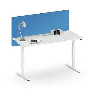 Akustik Tischtrennwand zur Montage am Schreibtisch