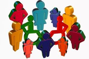 Artikelgrafik: Inklusion am Arbeitsplatz