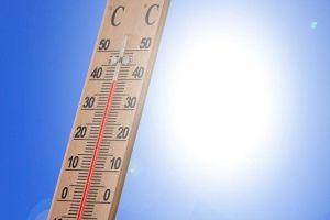 Grafik: saisonale Hitze